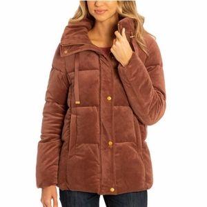HP!!! Isaac Mizrahi Ladies' Velvet Puffer Jacket